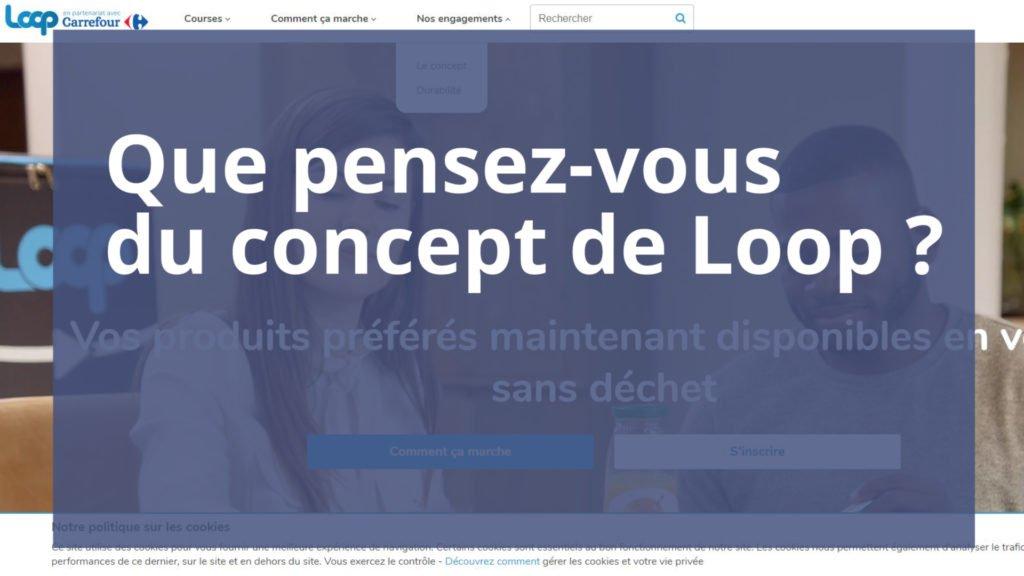 Loop, un nouveau concept de consignes