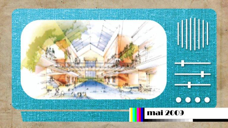 En 2009, un projet de centre thermal à Hanweiler