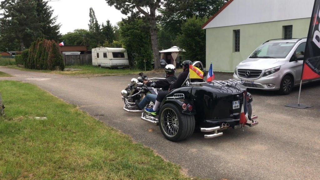 Évasion à moto pour le handicap
