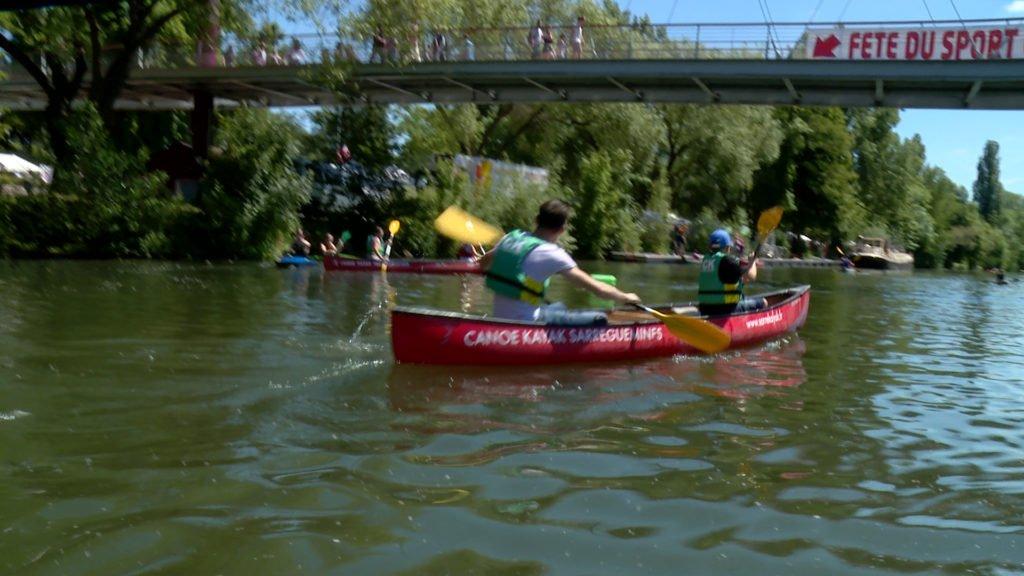 Immersion à la fête du sport de Sarreguemines