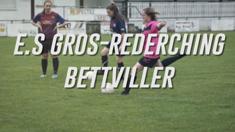 L'équipe féminine de l'ES Gros-Réderching
