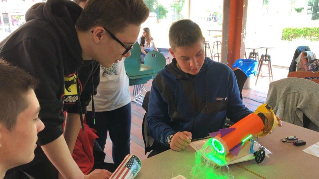 Technobot : un concours de robots pour les collégiens