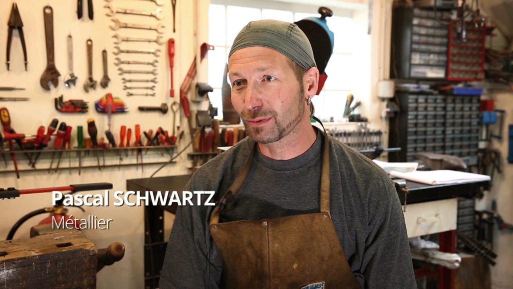 Pascal Schwartz, passionné de métal