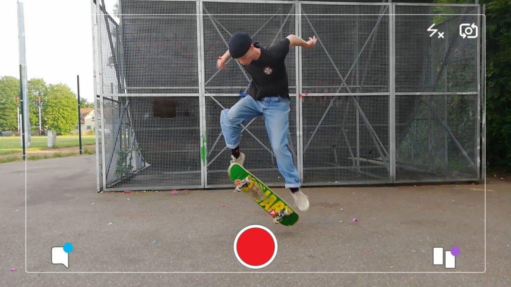 Bastien kiff le skateboard