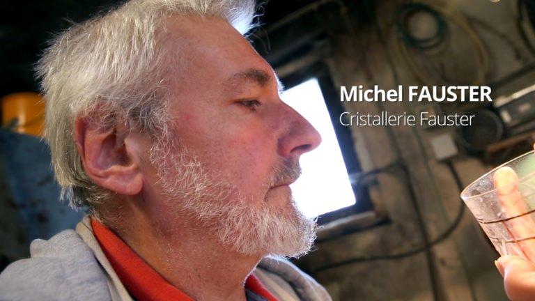 Michel Fauster et le cristal