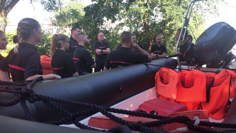 Les pompiers à l'heure d'été
