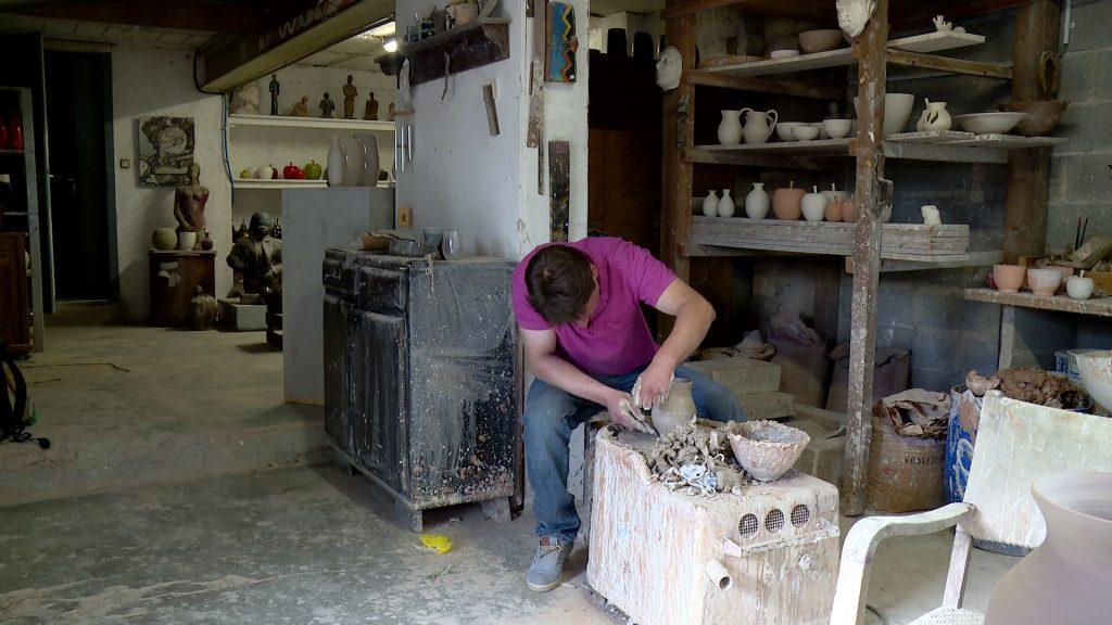 Passion poterie de père en fils