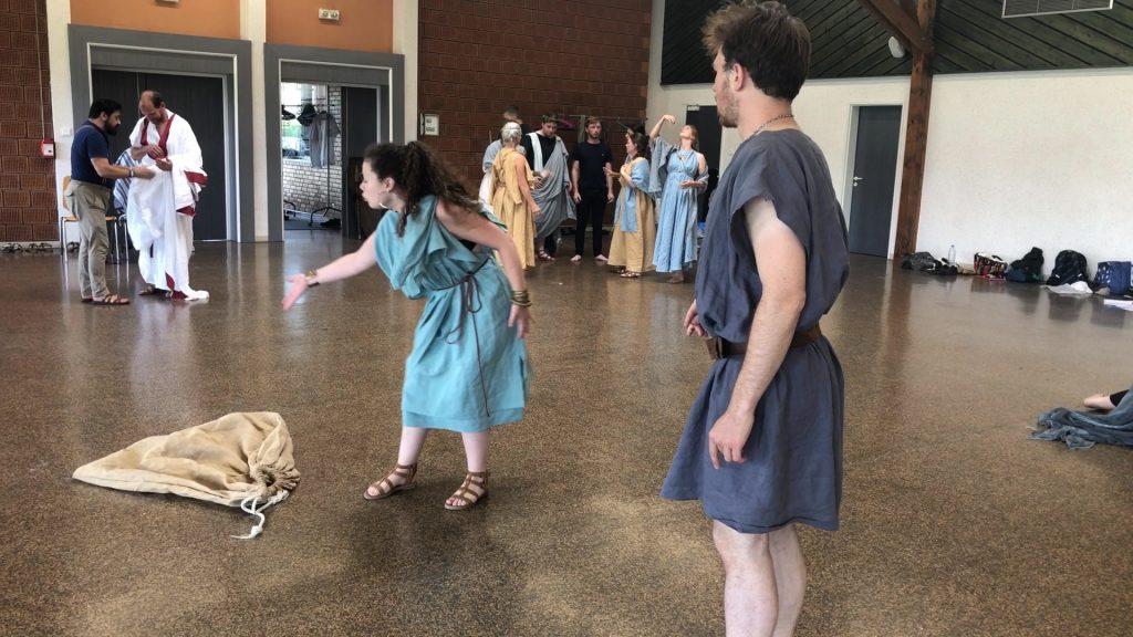 5 jours de répétitions avant Vita Romana