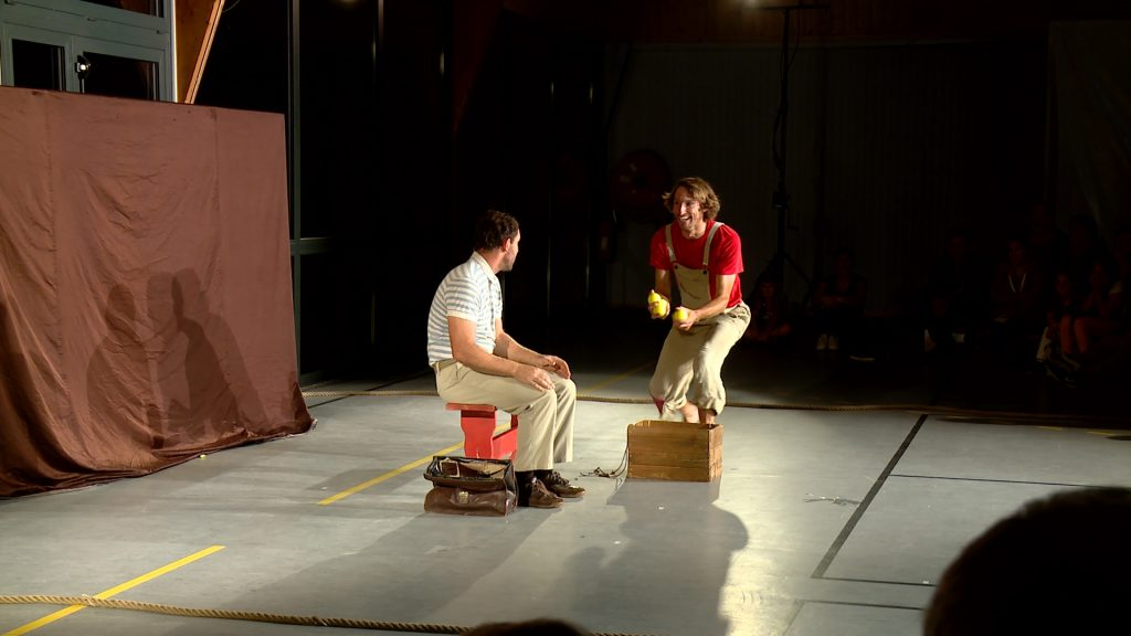 Du jonglage pour le festival Il été une fois