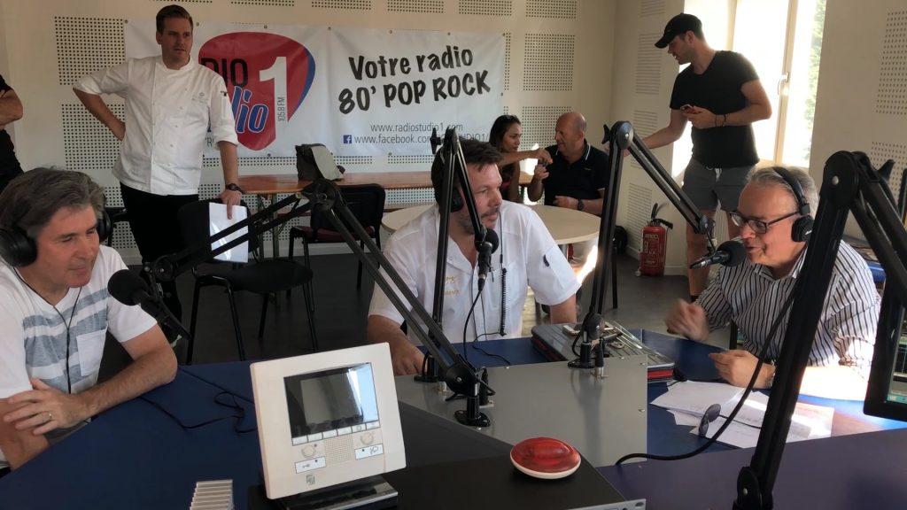 Plateau de chefs sur Radio Studio 1