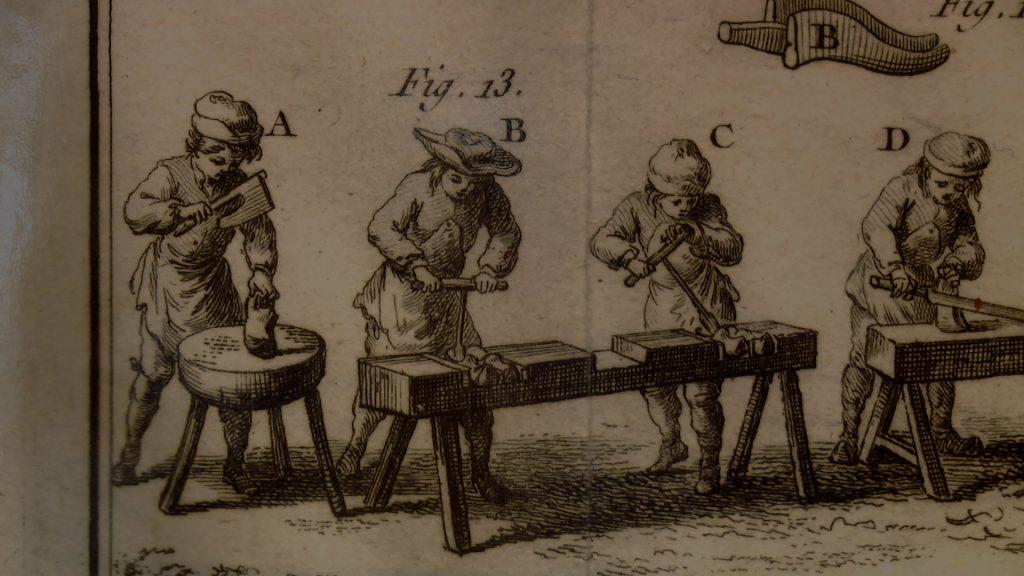 Un document de 1764 pour le musée du sabotier