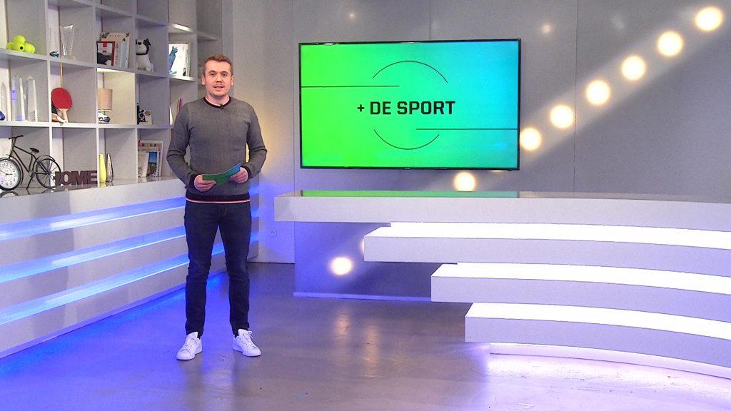 De l'escrime, du foot et du handball