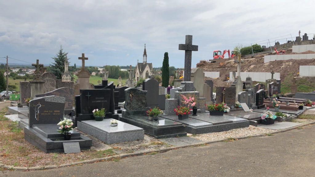Faire du cimetière de Sarralbe un lieu de visite