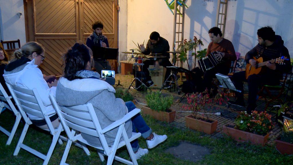 Du tango dans le jardin, concert privatif