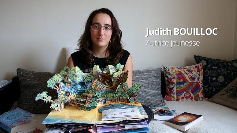 Judith Bouilloc et l'art d'écrire