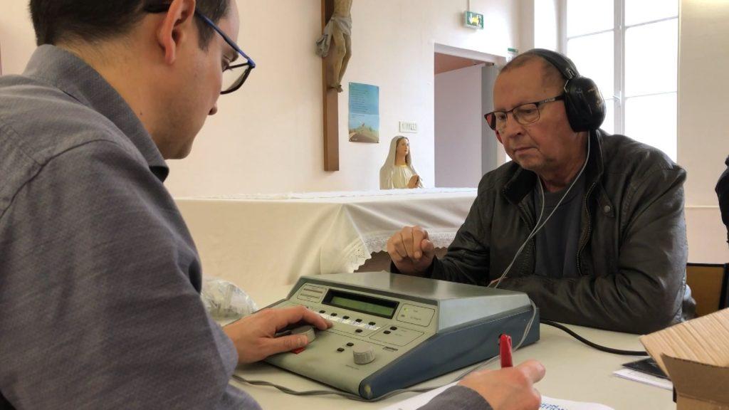 Un dépistage gratuit pour la vue, l'audition et le diabète
