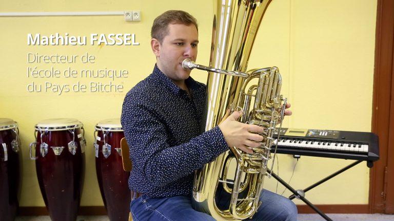 Mathieu Fassel, la musique passionnément