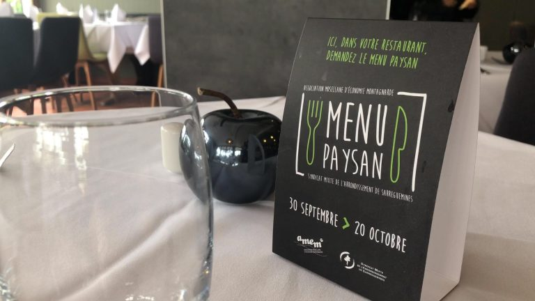 L'Hostellerie Saint Hubert propose un menu paysan