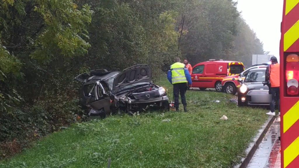 Accident à Bliesbruck : trois blessés