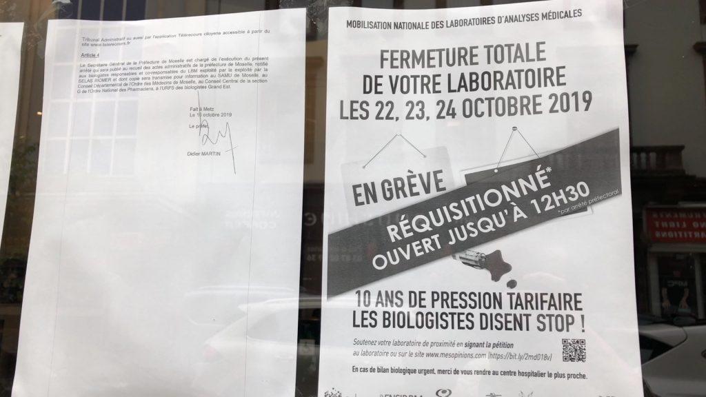 Les laboratoires de biologie médicale en grève