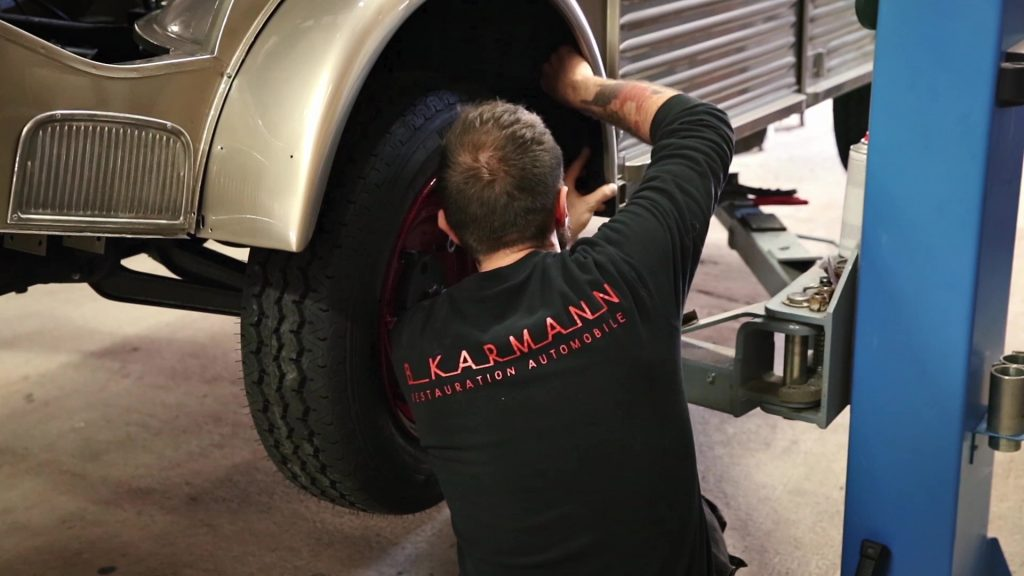 B.Karmann, spécialiste des voitures anciennes