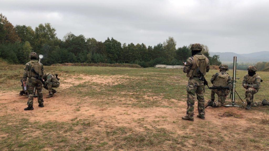 Les militaires à l'épreuve du camp de Bitche