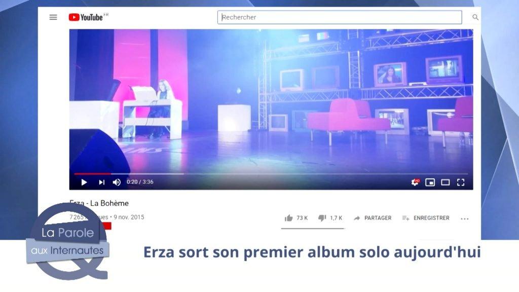 Allez-vous écouter le nouvel album d'Erza ?