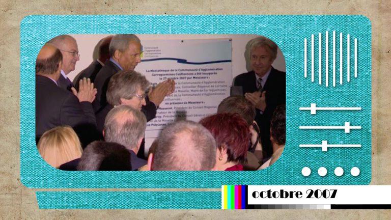 En 2007 était inaugurée la médiathèque communautaire de Sarreguemines