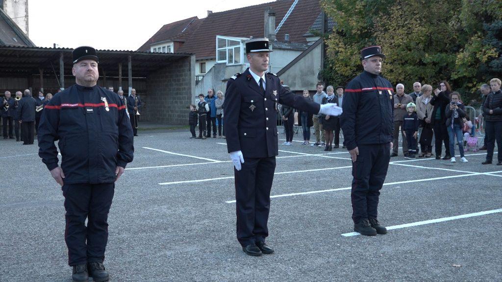 Nouveau chef pour les pompiers de Grosbliederstroff