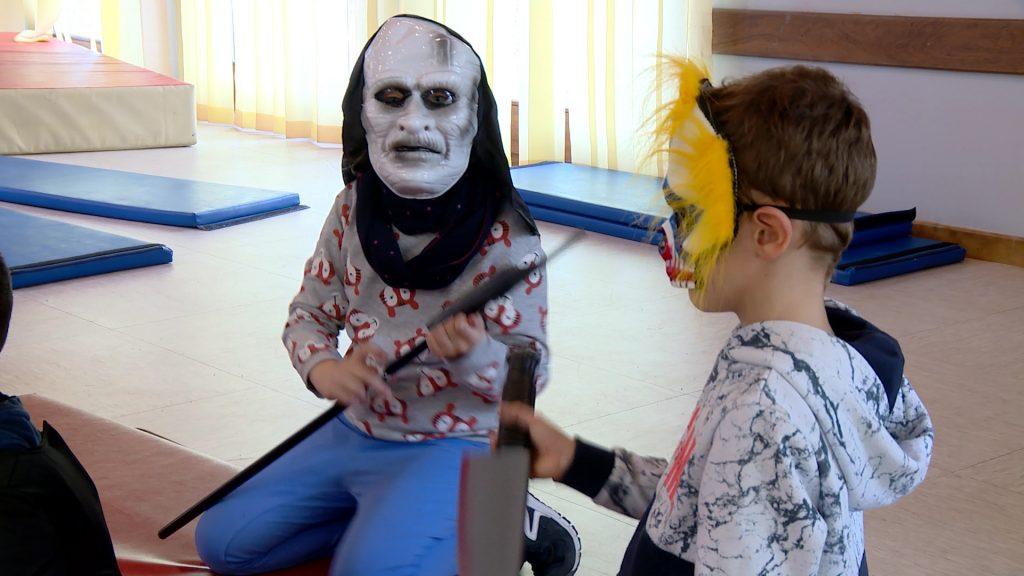 Vacances monstrueuses pour les enfants à Woustviller