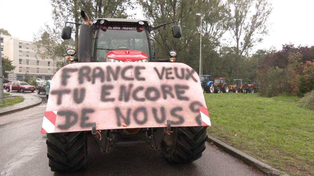 Les agriculteurs sont en colère