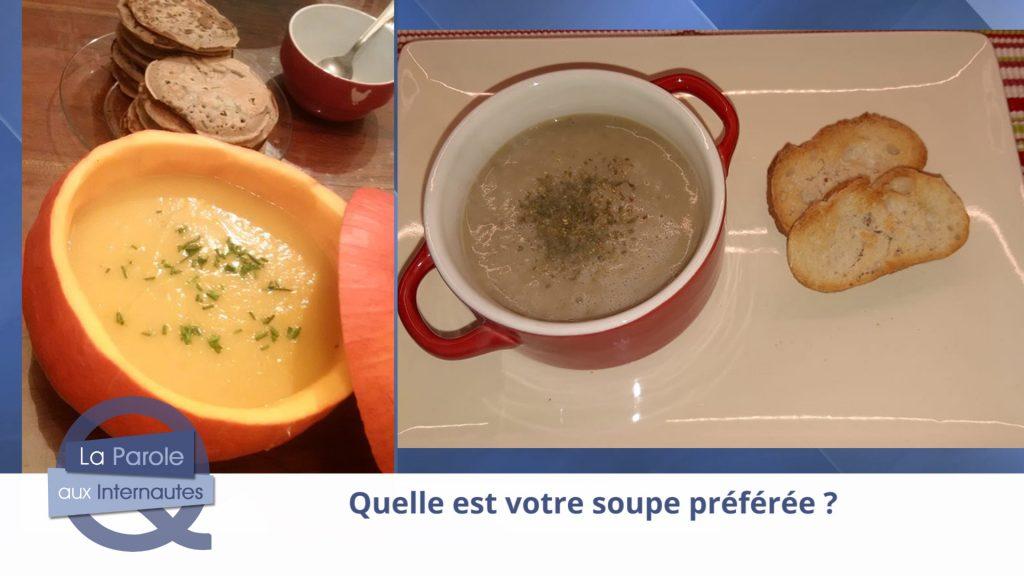 Quelle est votre soupe préférée ?