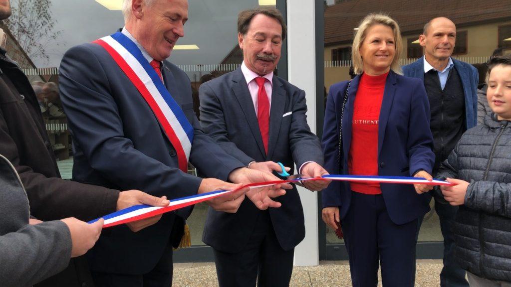 Inauguration du bâtiment multiservices à Schorbach