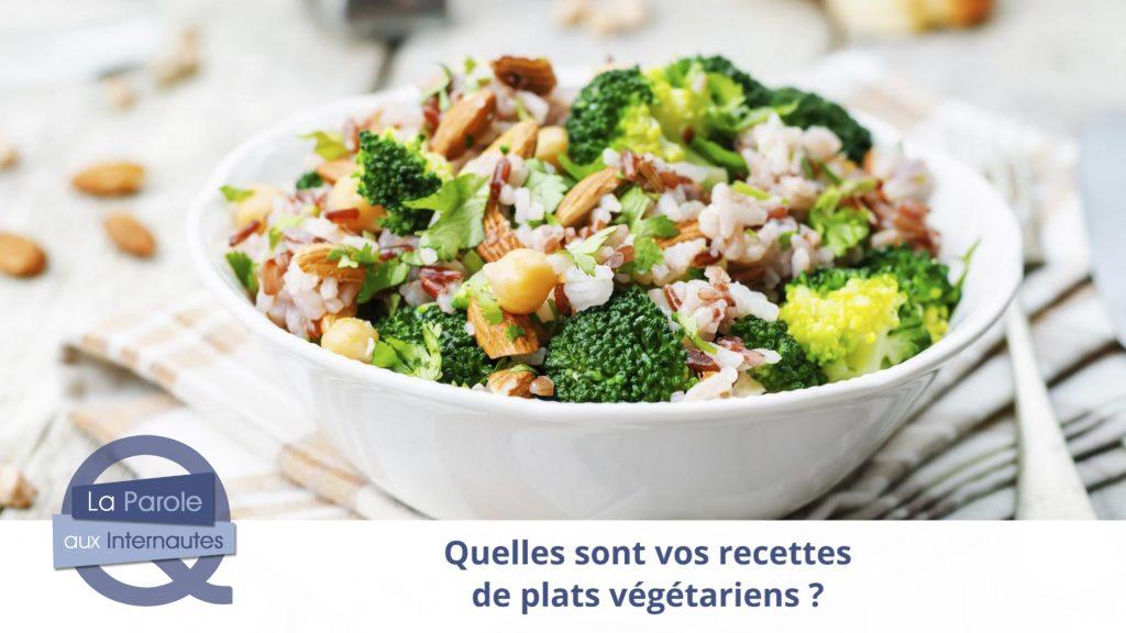 Que pensez-vous du menu végétarien dans les cantines ?