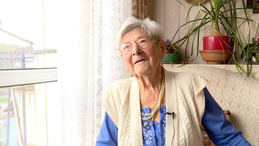 Anne Laué souffle sa 101ème bougie