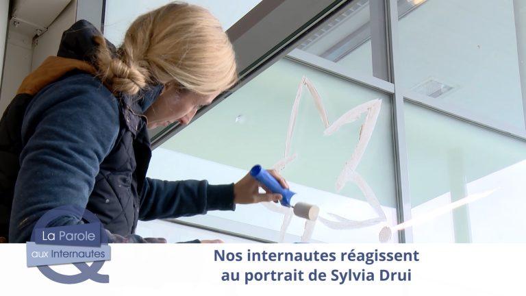 Nos internautes applaudissent Sylvia Drui