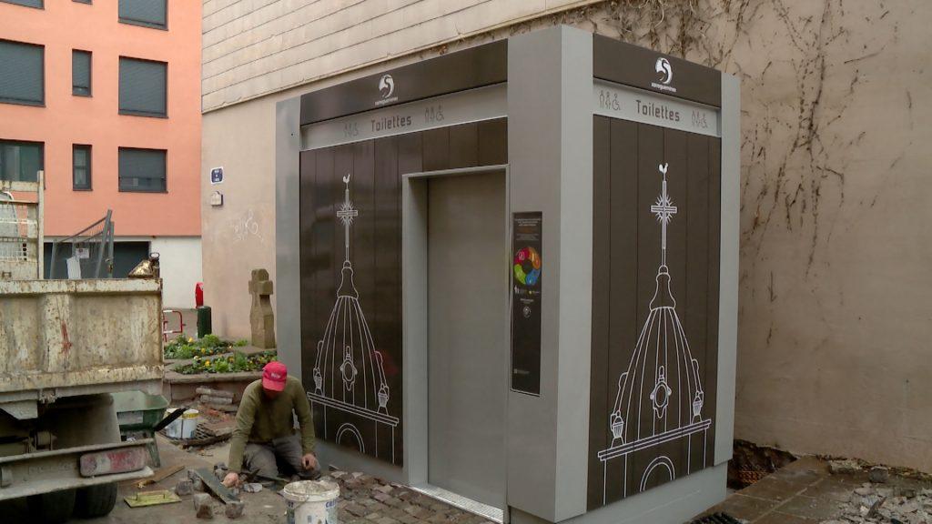 Deux nouveaux WC publics à Sarreguemines