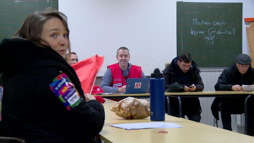 Les enseignants de l'arrondissement mobilisés pour les retraites
