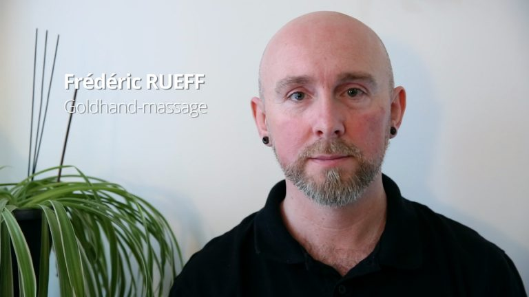 Frédéric Rueff, l'invitation au massage
