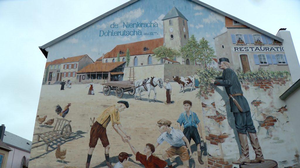 Le quartier de Neunkirch en peinture
