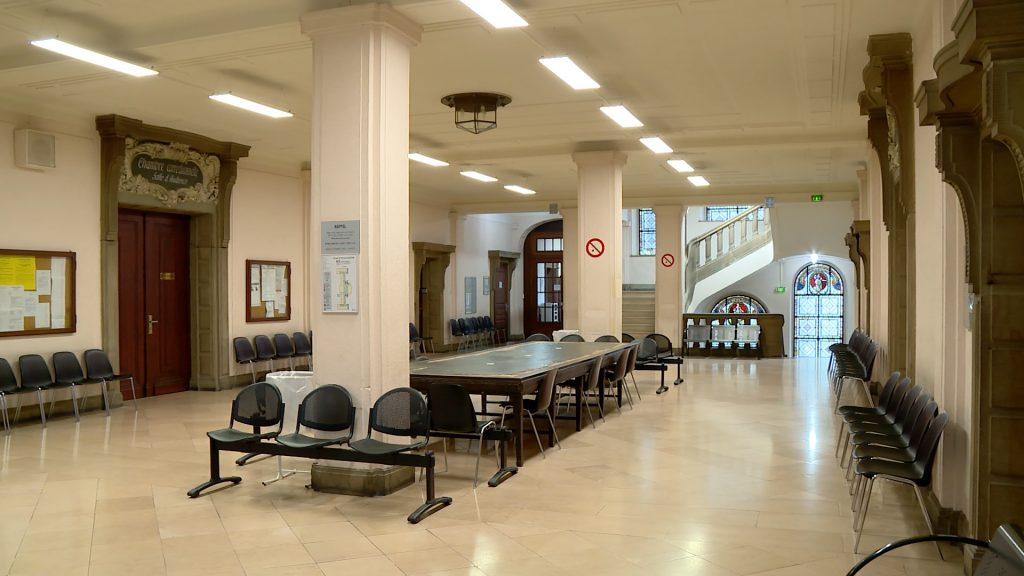 Inauguration de 180m² au palais de justice