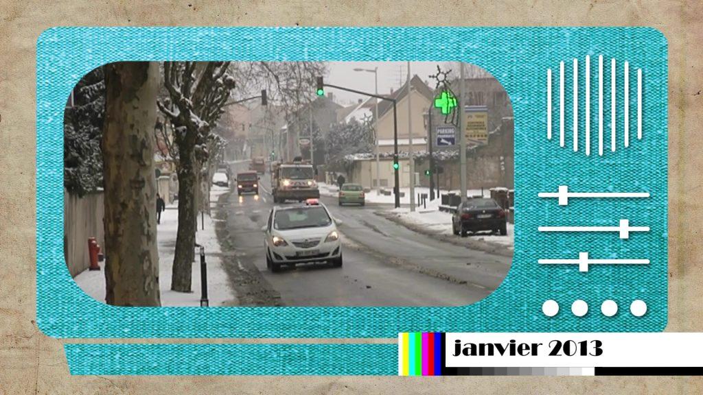 En 2013 l'arrondissement était sous la neige