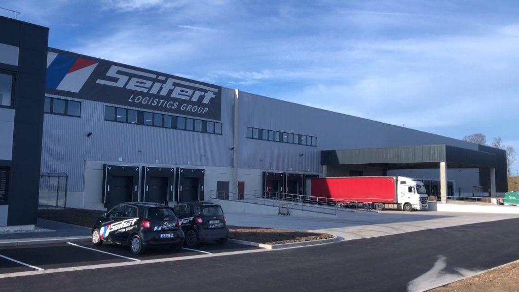Seifert termine son centre logistique
