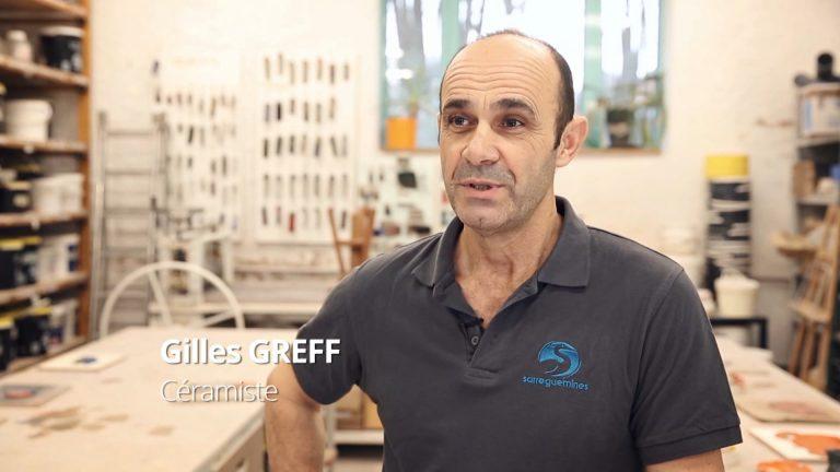 Gilles Greff, céramiste