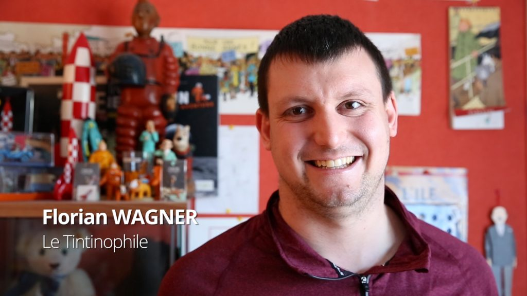 Florian Wagner, le Tintinophile