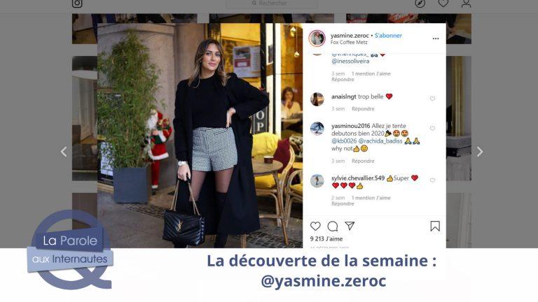 Yasmine Zeroc : Influenceuse sur le web