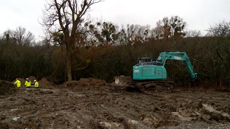 Construction d'un nouveau lotissement à Rouhling