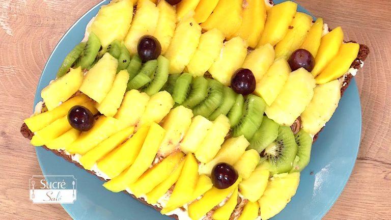 La tarte aux fruits divers de Monique Jost
