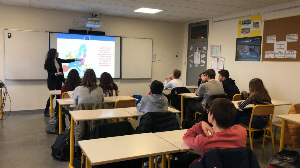 « Back to school » pour parler de l'UE