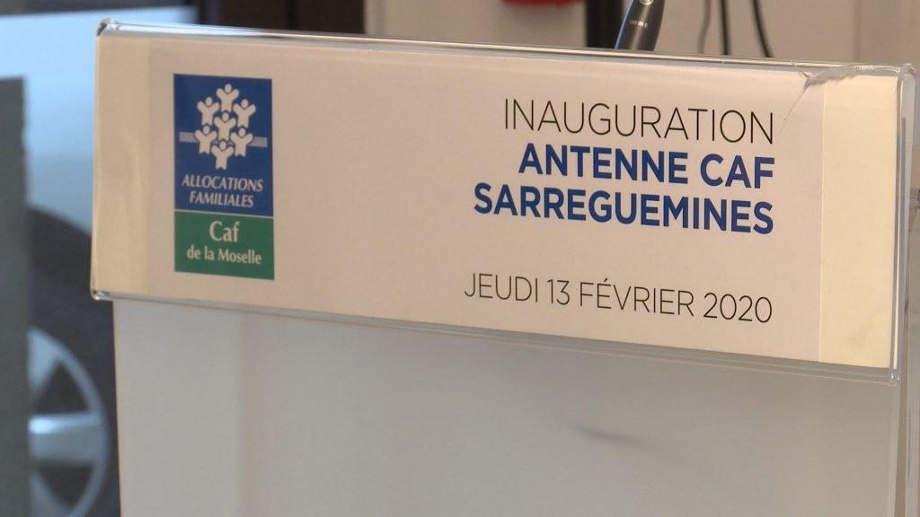Inauguration de l'antenne CAF de Sarreguemines